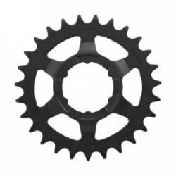 Звезда задняя Shimano 27T, 2.3 мм, черная ACSC700027