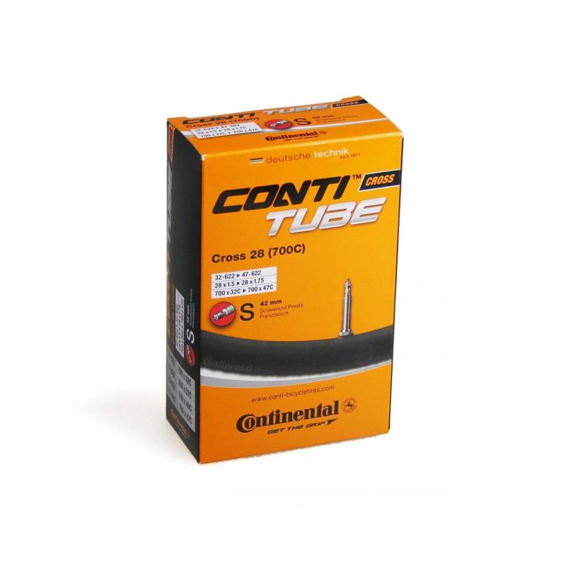 Камера Continental Cross 700x32/47C Presta 42 мм 0181941
