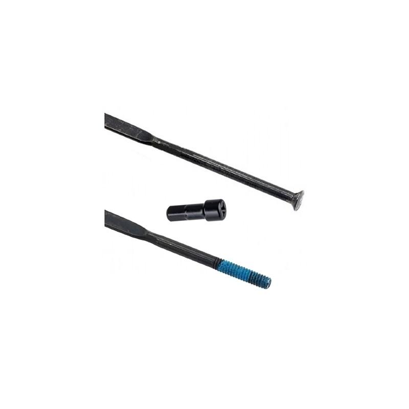 Спица Shimano 304 мм, черная, с латунным ниппелем EWHSPOKE3VB104