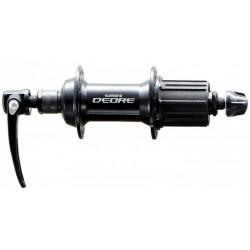 Втулка задняя Shimano FH-M590, 36 отв, 8/9/10 скоростей, QR 168 мм, черная, б/упак