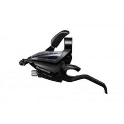 Комборучка Shimano Tourney ST-EF500, левая, 3 скорости, черная ESTEF5002LSBL
