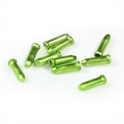 Концевик для троса YPK, алюминий, зеленый 3-308