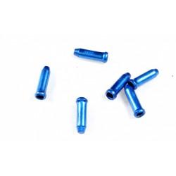 Концевик для троса YPK, алюминий, синий 3-309