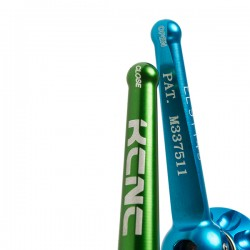Ось передняя KCNC E-Thru Axle для Rock Shox 15x100 мм синяя 2KCTHRUAXLE215BL