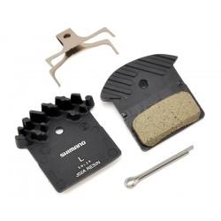 Тормозные колодки Shimano для дисковых тормозов J02A, пластиковые Y8LW98040