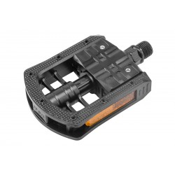 Складные педали Feimin FP-875 пластиковые, черные 360142