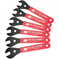 Набор конусных ключей Bike Hand YC-658, 13/14/15/16/17/18 мм, 6 шт YC-658
