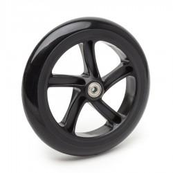 Колесо для самоката Trix 200 мм, полиуретан, черное с белой полосой
