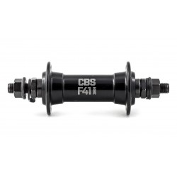 Втулка передняя Colt Open CBS 41, 36 отв, под гайки, промподшипник, черная, CBSFB20136NUT-19