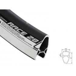Обод AlexRims Race28, 622x14 мм, двойной, профиль 28 мм, черный, 32 отверстия, F/V 6-152828