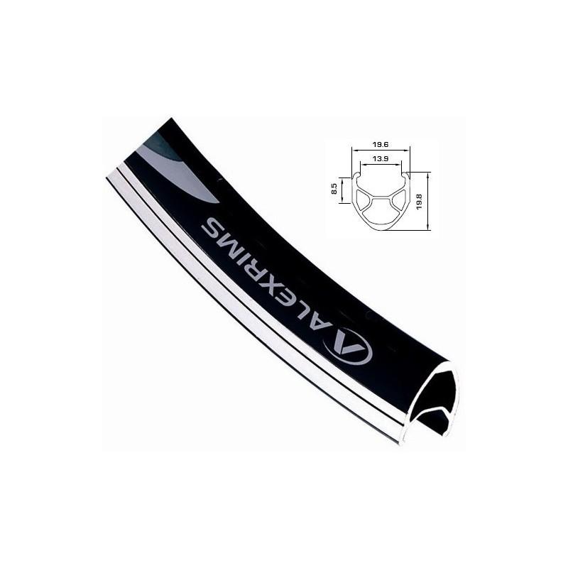 Обод AlexRims R450 622x14 мм, двойной, черный, 32 отверстия, F/V R450_32H_black_622x14