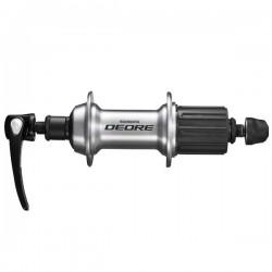 Втулка задняя Shimano Deore T610, 32 отверстия, 8/9/10 скоростей, QR, серебристый EFHT610BZBS