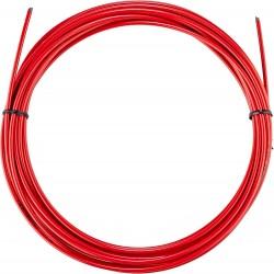 Оплетка для троса тормоза Jagwire Brake Housing 5 мм CGX SL, красная, 1 метр BHL411