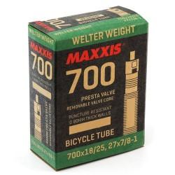 Камера Maxxis Welter Weight 700x18/25C Presta 48 мм