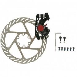 Тормоз механический дисковый Avid BB5 MTB черный, с адаптером и ротором G2CS 160 мм 00.5016.166.060