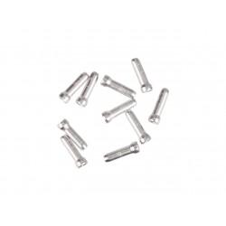 Концевик для троса тормоза Jagwire, алюминий, серебристый