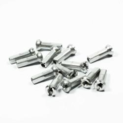 Ниппель Sapim Polyax алюминий 14G, 14 мм, серебристый