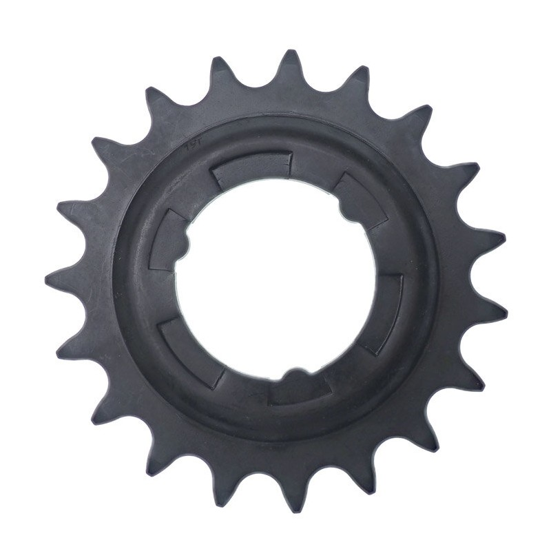 Звезда задняя Shimano 19T, 2.3 мм, черная ASMGEAR19LP