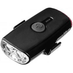 Фонарь передний Topeak Headlux USB 140, черный TMS090B