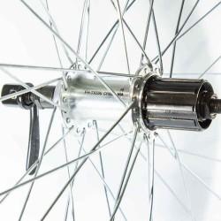 """Заднее колесо 26"""", обод Ventura, втулка Shimano TX500, спицы Sapim Zinc"""