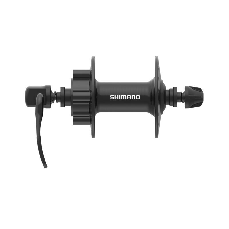 Втулка передняя Shimano HB-TX506, 32 отверстия, 6 болтов, QR, черная EHBTX506BAL