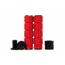 Грипсы Lizard Skins Oury Dual Clamp Lock-On красные ODLOOG50