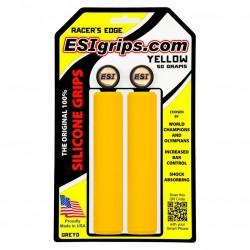 Грипсы ESI Racer Edge, силиконовые, желтый GREY0