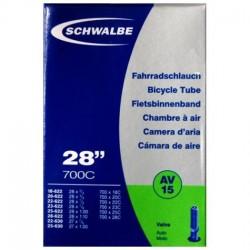 Камера Schwalbe 700x18/28C Schrader AV15 40 мм 10427340