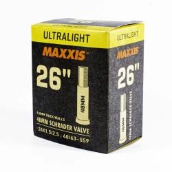 Камера Maxxis Ultralight 26x1.50/2.5 Shrader
