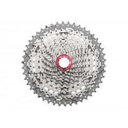 Кассета SunRace MX3, 10 скоростей, 11-46T, серебристая