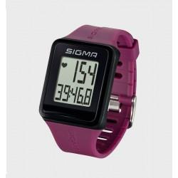 Пульсометр Sigma Sport iD.GO, фиолетовый