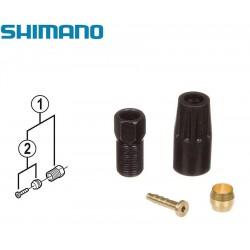Оливка и штуцер для гидролинии Shimano BH-59, с гайкой УТ00019042