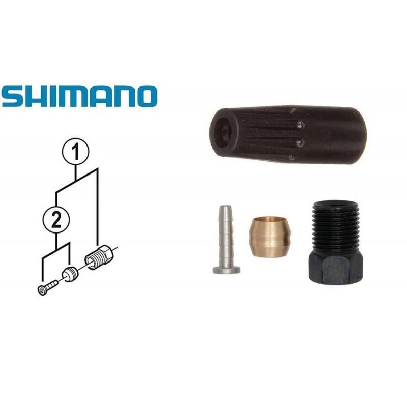Оливка и штуцер для гидролинии Shimano BH-90, с гайкой УТ00019043