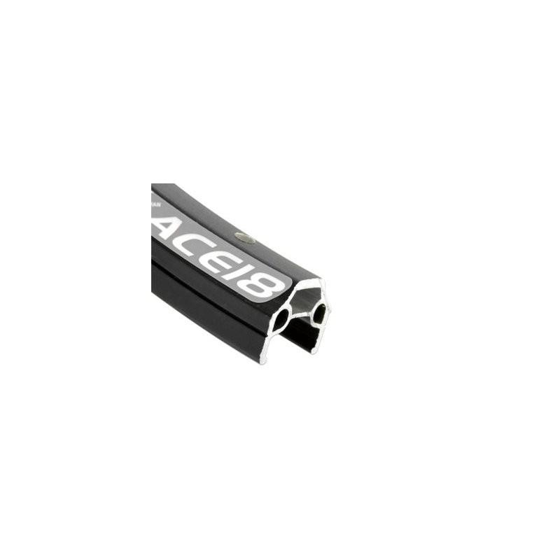 Обод AlexRims ACE18 406x17 мм, двойной, черный, 32 отверстия, A/V 6-190132