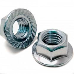 Гайка 3/8 сталь, открытого типа 6-306