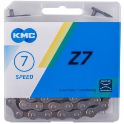 """Цепь KMC Z7, 6/7 скоростей, 1/2""""х3/32"""""""