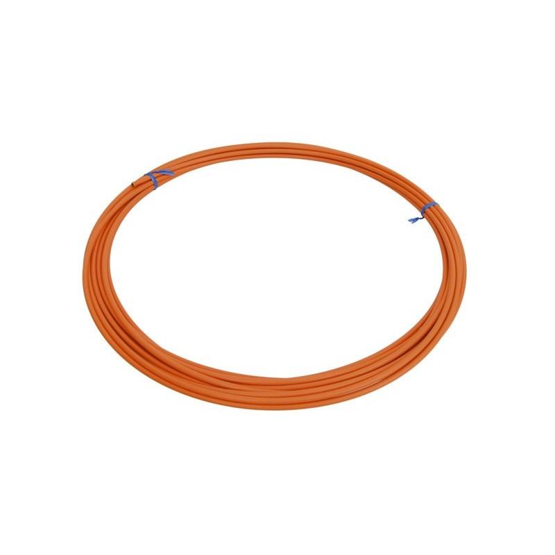 Оплетка для троса переключателя Shimano SP41 оранжевая, 4 мм, 1 метр Y6Y198080