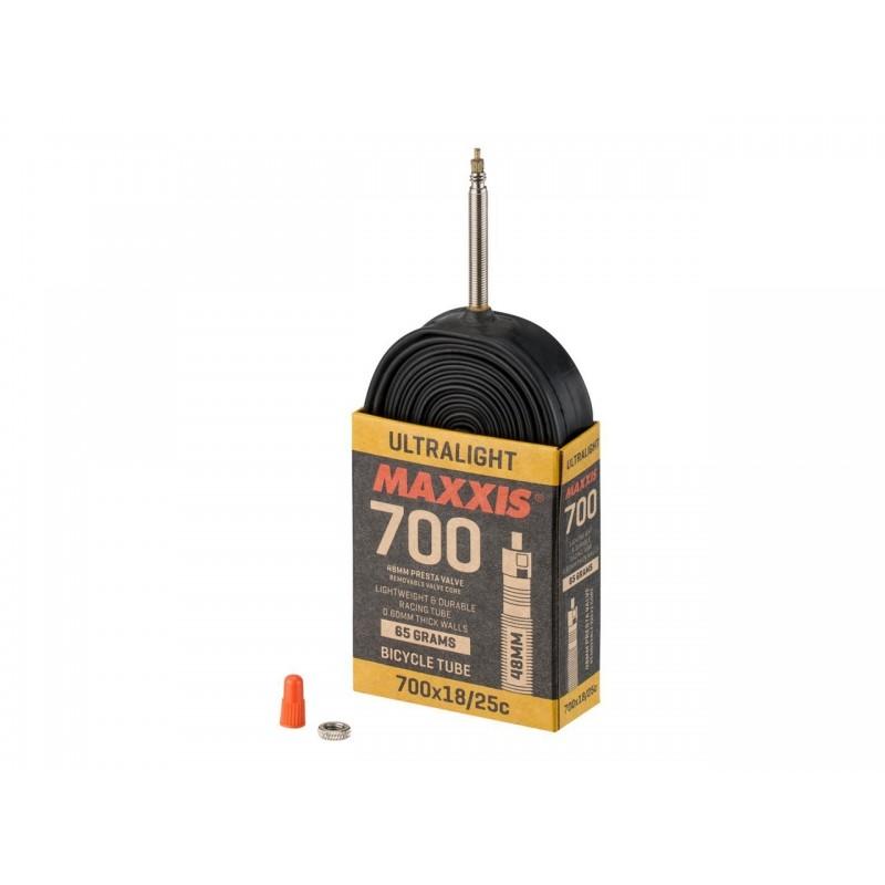 Камера Maxxis Ultralight 700x18/25C Presta 48 мм EIB69838600