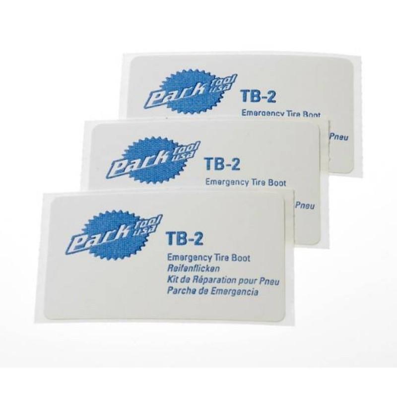 Заплатки для покрышек Park Tool 3 шт 76х45 мм PTLTB-2C