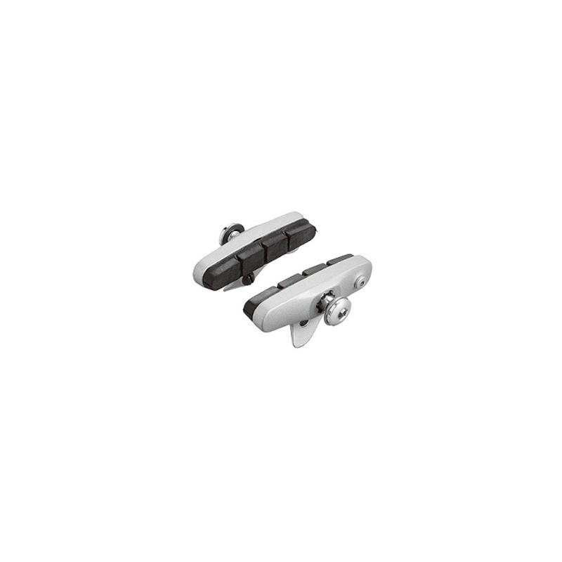 Тормозные колодки Shimano R55C шоссейные, серебристые Y83H98010