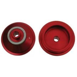 Адаптер DMR 20мм под 9мм эксцентрик, алюминий, красный DMR-HUB-F20-C-QR