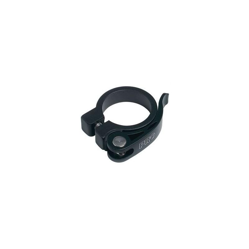 Хомут подседельный PRO с эксцентриком, черный, 31.8 мм PR900112