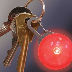 Маркер светящийся Nite Ize SpotLit красный, на карабине SLG-06-10