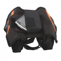 Сумка мини-штаны Ibera на раму, с влагозащитным чехлом и карманом для телефона IB-TB3
