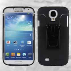 Чехол Nite Ize Connect Case для Samsung Galaxy S4, серый CNT-GS4-01SC