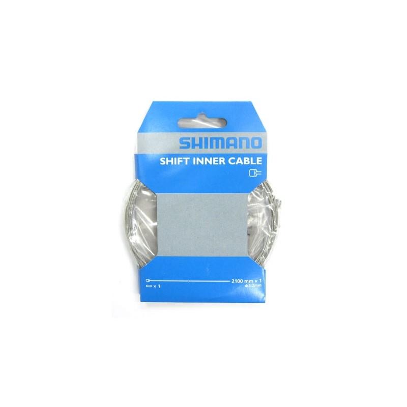 Трос для переключателя Shimano, 1.2х2100 мм, луженый, с концевиком Y60098070