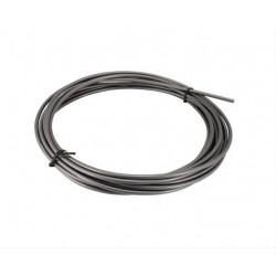Оплетка для троса тормоза Shimano Msystem, серая, 5 мм, 1 метр Y80900014