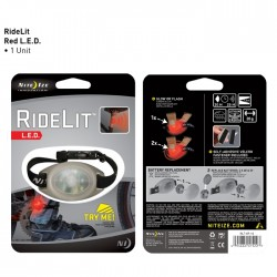 Маркер светящийся Nite Ize RideLit красный RLT-07-10