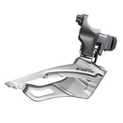 Переключатель передний Shimano Claris FD-2403, 3x8 скоростей, 31.8/28.6 мм EFD2403BSM