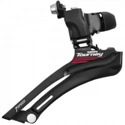 Переключатель передний Shimano Tourney FD-A070, 2x7 скоростей, нижняя тяга, 34.9 мм EFDA070AX1